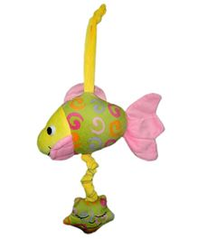 Play N Pets Fish With Music Box Green