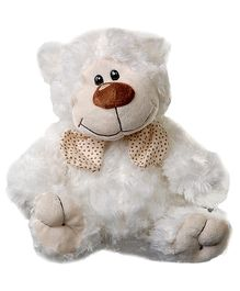 Play N Pets Bear With Tie Soft Toy - 29 Cm