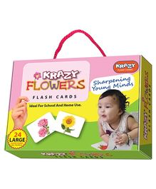 Krazy Flowers Flash Cards - 26 Cards