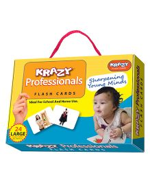 Krazy Professionals Flash Cards - 26 Cards