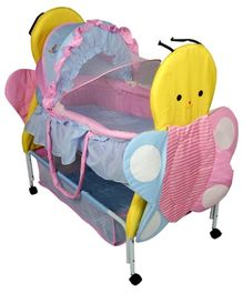 Sunbaby Buzz The Butterfly Bassinet - Pink