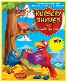 Bento Nursery Rhymes For Kindergarten - DVD