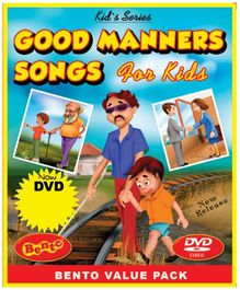 Bento Good Manners Song For Kids - DVD