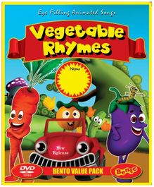 Bento Vegetable Rhymes DVD - English