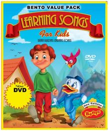 Bento Learning Songs 1 DVD - English