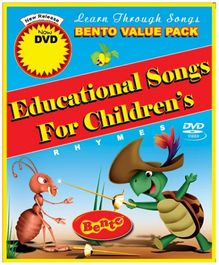 Bento Educational Songs For Children DVD - English