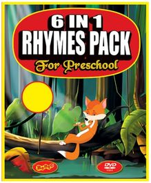 Bento 6 In 1 Value Pack Rhymes Pack For Preschool DVD - English