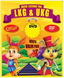 Bento Basic Lessons For LKG And UKG DVD - English