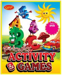 Bento Phonics Activity and Games DVD - English