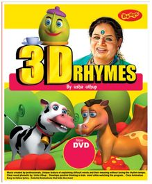 Bento 3D Rhymes By Mrs Usha Uthup DVD - English