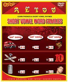 Bento Short Vowel Word Families - English