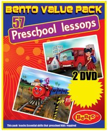 Bento Value Pack 57 Preschool Lessons DVD - English