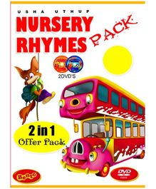 Bento Nursery Rhymes Pack DVD - English