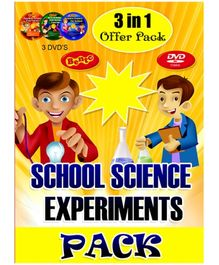 Bento School Science Experiments Pack DVD - English