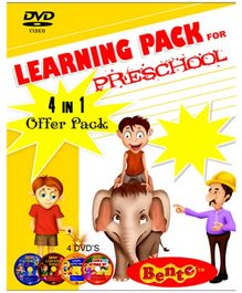 Bento Learning Pack For Preschool DVD - English