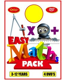 Bento Easy Maths Pack DVD - English