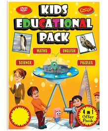 Bento Kids Educational Pack DVD - English