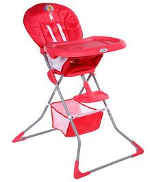 Fab N Funky Ayoba High Chair Red