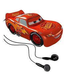 Disney Car Fm Autoscan Radio Lighting Mcqueen Shape