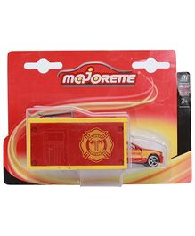 Majorette SOS Garage Launcher - Fire Fighter Car