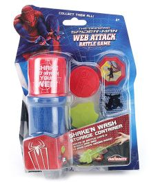 Majorette Spiderman Web Attack Storage Pack In Blister - 4 Years Plus