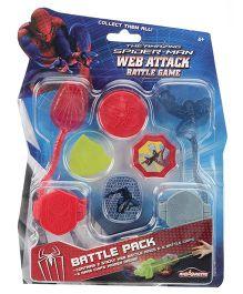 Majorette Spiderman Web Attack Battle Game