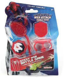 Majorette Spiderman Web Attack Battle Game - Single Blister
