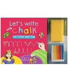 Sterling Lets Write With Chalk Writing Book - Pattern Writing