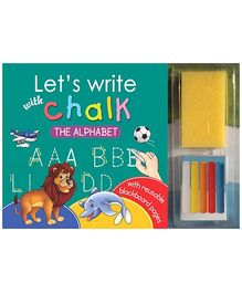 Sterling Lets Write With Chalk Writing Book - The Alphabet
