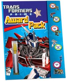 Sterling Transformers Prime Award Packs Coloring Book