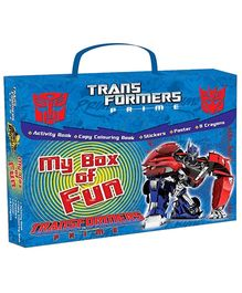 Sterling Transformers Prime My Box Of Fun Books Set