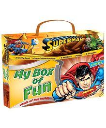 Sterling Superman My Box Of Fun Books Set