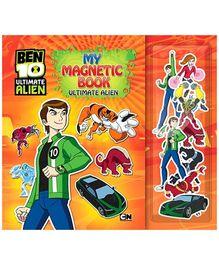 Sterling My Magnetic Book - Ben 10 Ultimate Alien
