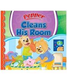 Sterling Pepper Cleans His Room - English