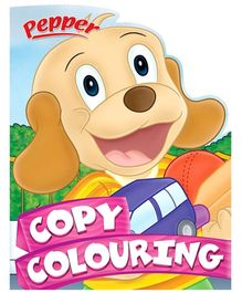 Sterling Pepper Copy Colouring Book - English