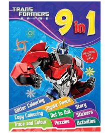 Sterling Transformers Prime 9 In 1 - English