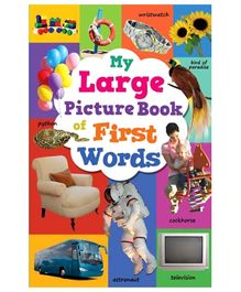 Sterling My Large Picture Book Of First Words - English