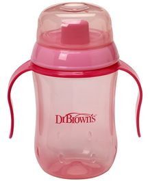 Dr Browns Soft Spout Training Cup Pink - 270ml