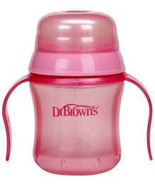 Dr Browns Training Cup Pink - 170 ml
