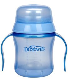Dr Browns Training Cup Light Blue - 170 ml