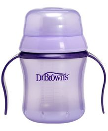 Dr Browns Training Cup Purple - 170 ml