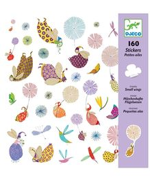 Djeco Small Wings Stickers - 160 Stickers