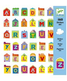 Djeco Letters Stickers - 160 Stickers