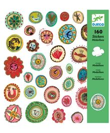 Djeco Medallions Stickers - 160 Stickers