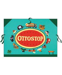 Djeco Ottostop Vehicles Art Folder - A3 Size