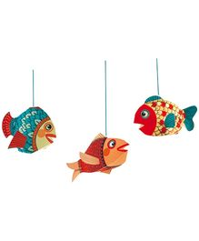 Djeco Little Fishes Wall Decor