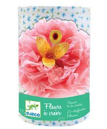 Djeco Create Flowers Eugenie Tissue Paper Flowers