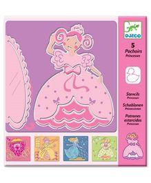 Djeco Stencils Princess