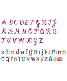 Djeco Alphabet Wall Stickers - 120 Pieces