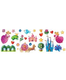 Djeco Princess Marguerite Removable Wall Clings - 44 Stickers